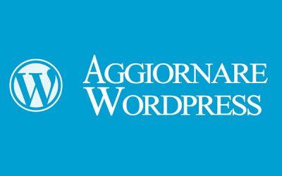 Aggiornamento WordPress