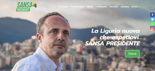 Sito ufficiale candidato Ferruccio Sansa